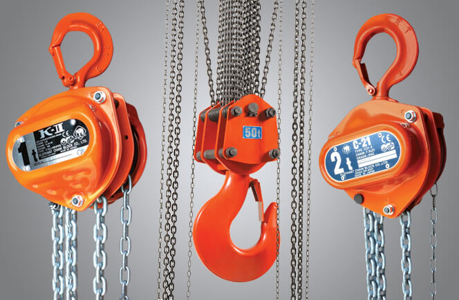 See our full selection of Manual Chain Hoists