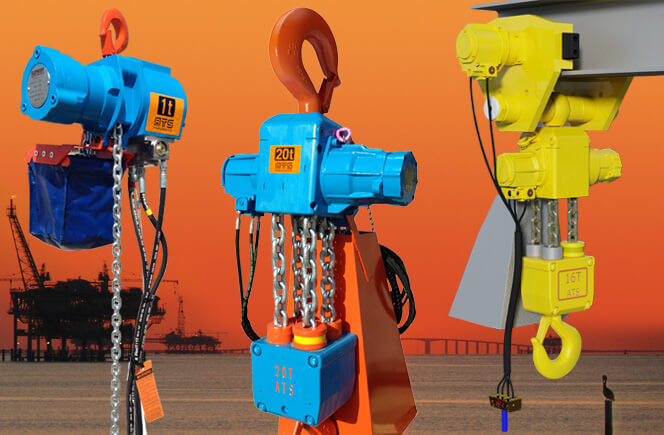 See our full selection of Pneumatic Chain Hoists